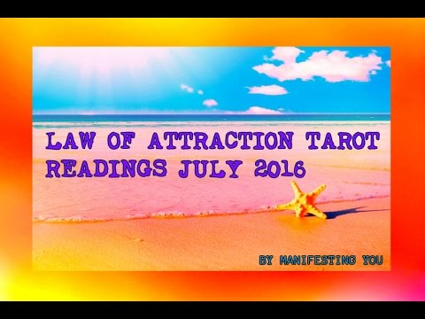 CANCER JULY 2016 TAROT LAW OF ATTRACTION TAROT READING!