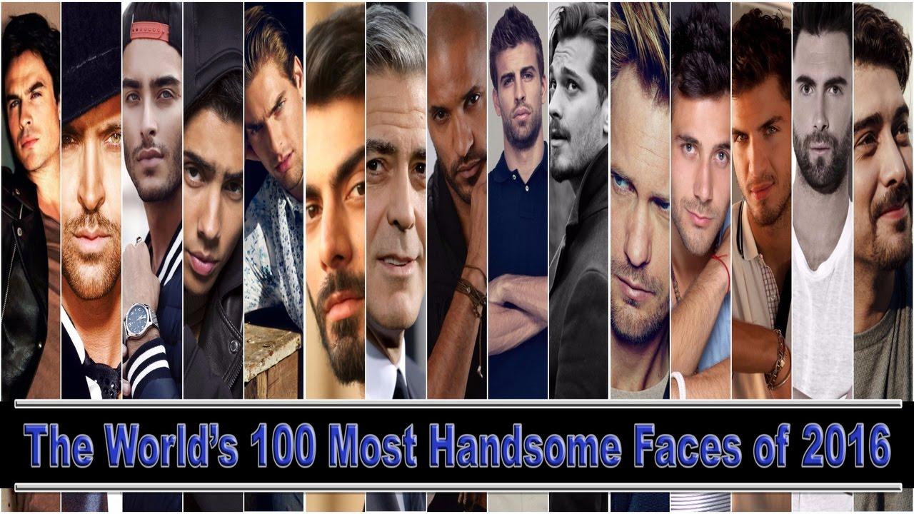 100 Most Handsome Men 2017 Rankings