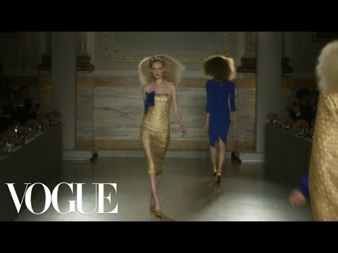 L'Wren Scott Ready to Wear Fall 2013 Vogue Fashion Week Runway Show