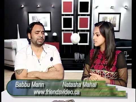 Babbu Mann Interview With Natasha Mahal On Vision Of Punjab Punjabi Latest video