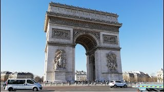 Visiting The Arc de Triomphe In Paris