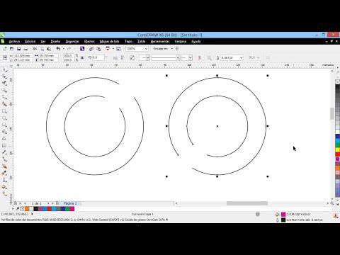 Curso Introducción a CorelDraw X6 - 58 La Herramienta Eliminar Segmento Virtual
