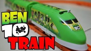 Ben 10 Trains for kids  - Fun with Ben Ten Toy Train in a Forest | Hala Play