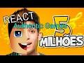React Authentic Games RAP 5 MILHÕES DE INCRITOS Minha Vida YouTuber LGBRTamoJunto mp3