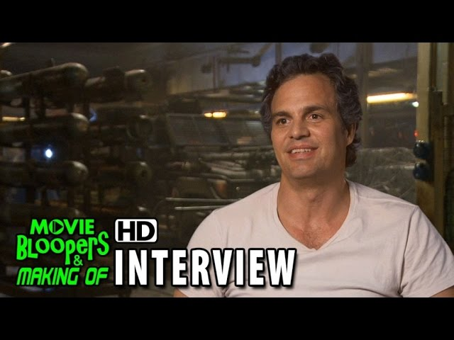 Avengers: Age of Ultron (2015) BTS Movie Interview - Mark Ruffalo (Bruce Banner / Hulk)