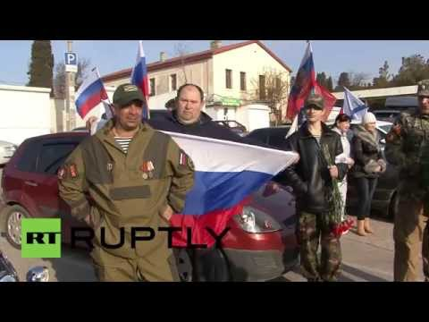 Russia: Crimeans celebrate one-year reunification referendum anniversary