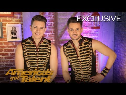 Fratelli Rossi Talk About Dangerous Audition Mistake - America's Got Talent 2018