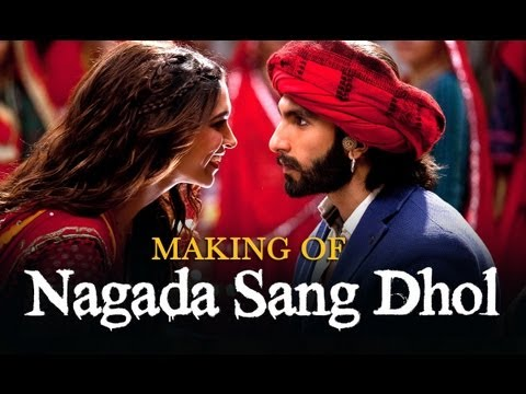 Nagada Sang Dhol Song Making - Goliyon Ki Raasleela Ram-leela video