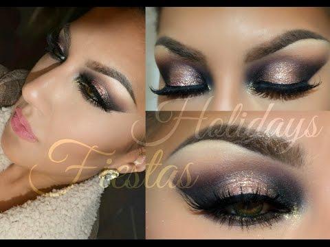 Holidays - Fiestas  tutorial Maquillaje