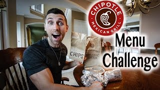 Chipotle Menu Food Challenge
