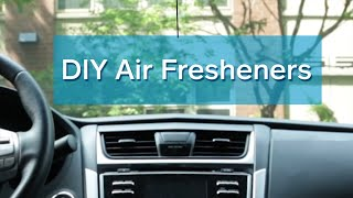 Quick Fix: 3 DIY Car Air Fresheners | Allstate Insurance
