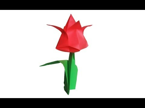 Watch Origami Flower  Lily 100th video! Online