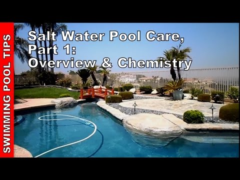 Salt Water Pool Care. Part One - Overview & Chemistry