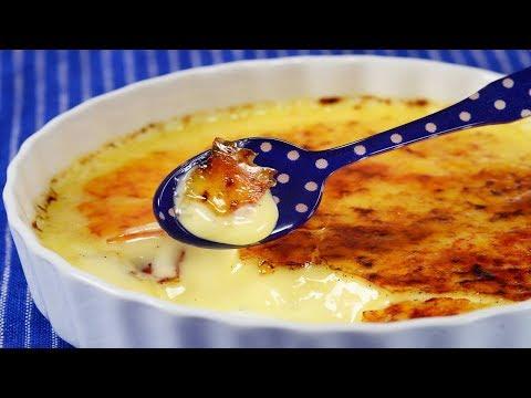 Crème Brûlée Recipe Demonstration