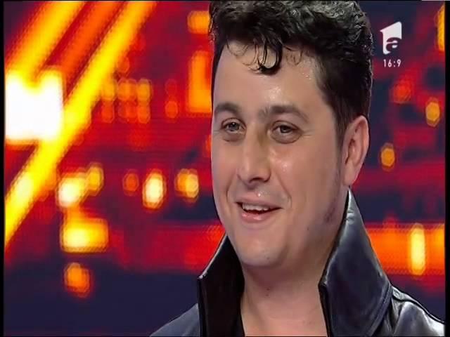 Elvis de România a fost pe placul juriului X Factor!