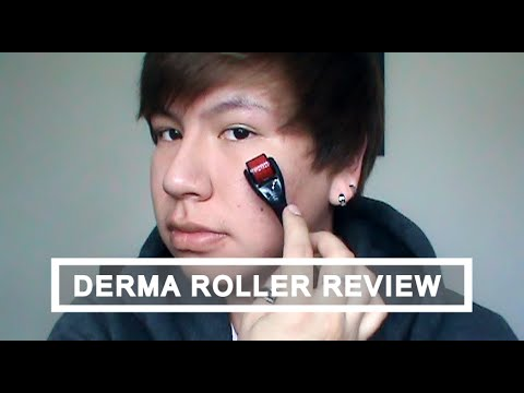 Derma Roller Review (0.50mm). Live Demo and Before and After