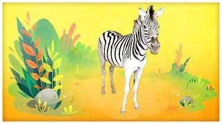 """Animal Songs: """"He's a Zebra,"""" by StoryBots"""