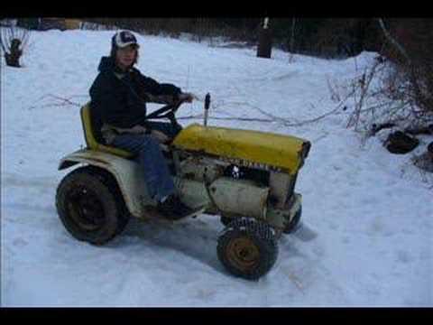John Deere 110 Patio Tractor.
