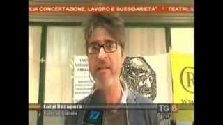 12/04/2014 - Piazza Lanza: presidio radicale per l'amnistia e la giustizia (Tg8 Telejonica)