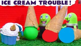 Funny Funlings Ice Cream Trouble at McDonalds Drive Thru with food Botbots TT4U