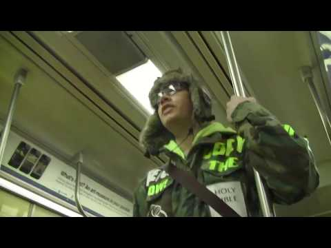 Father & Son Preaching Team! | New York City Subway | Super Bowl XLVIII