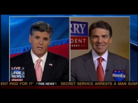 Rick Perry Interviewed by Sean Hannity - November 16, 2011
