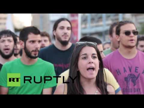 Greece: Anti-NATO protest grips Athens