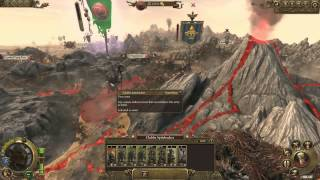 18 minutes of Total War Warhammer Campaign Gameplay