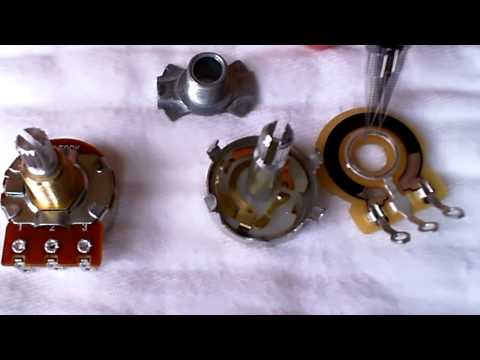 Potentiometers - How They Work,  Disassembly and Exploration