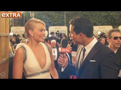 Golden Globes: Margot Robbie Reveals Her Celebrity Crush