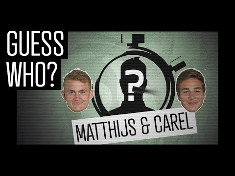 GUESS WHO? #3 - Matthijs & Carel