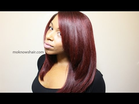 how to get shiny hair after straightening