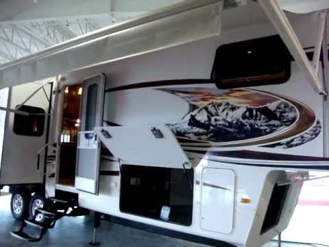Keystone RV New 2012 Montana 3400RL Fifth Wheel Camping Trailer