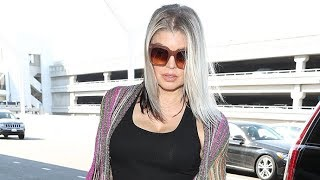 Fergie Looks Depressed As Her Separation From Josh Duhamel Weighs Heavy