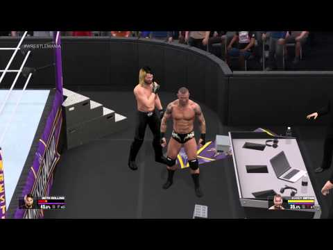 Wwe 2k15 Randy Orton vs Seth Rollins Wwe 2k15 Randy Orton vs Seth