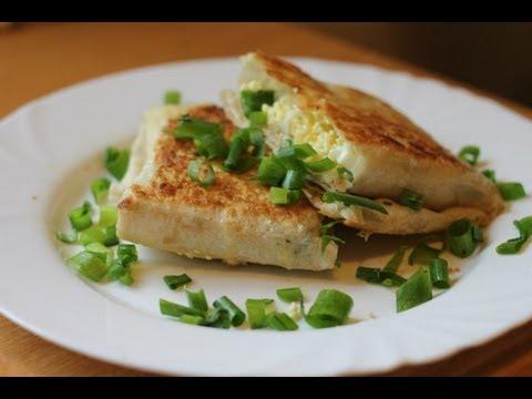 Рецепт конвертиков из лаваша с ветчиной и сыром