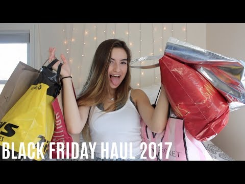 HUGE BLACK FRIDAY HAUL 2017!!