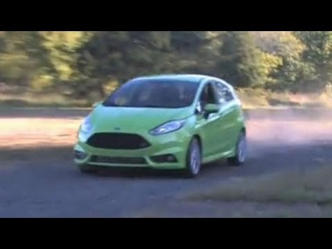 2014 Ford Fiesta ST Test Drive. 0-60 MPH. & Sport Compact Car Video Review