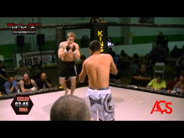 EXILED MMA and ACSLive.TV PRESENTS Xabien Burden Vs Joel Paasch