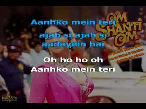 Ankhon Me Teri Ajab-karaoke Video Hindi Song.avi video