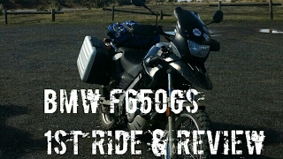 BMW F650GS LAMS Adventure / Dual Sport Bike   First Ride & Review On and Off Road