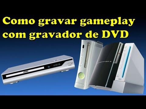 Como Gravar Gameplay do seu Console com um Gravador de DVD