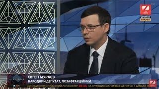 Евгений Мураев в программе FACE 2 FACE на телеканале ZIK, 21.09.18