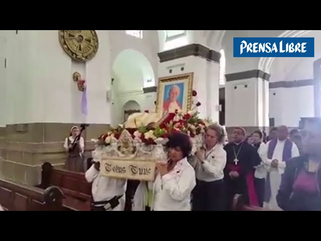Reliquia del Papa Juan Pablo II en la Catedral Metropolitana