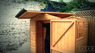 Play bow roof shed movie for Bow roof shed