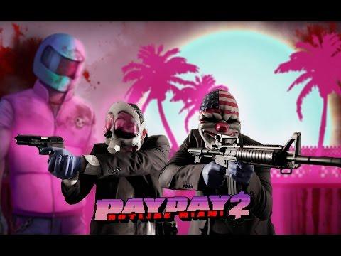 [LIVE] Payday 2: Hotline Miami DLC - Gameplay ITA