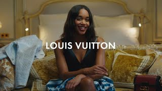 Show Day with Laura Harrier for Louis Vuitton Spring-Summer 2020