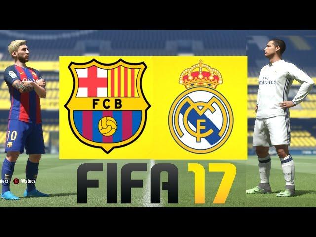 "FC Barcelona vs Real Madryt - FIFA 17 - Hogaty vs FooRmaN- ""El Clásico"" #06 [PL/HD]"