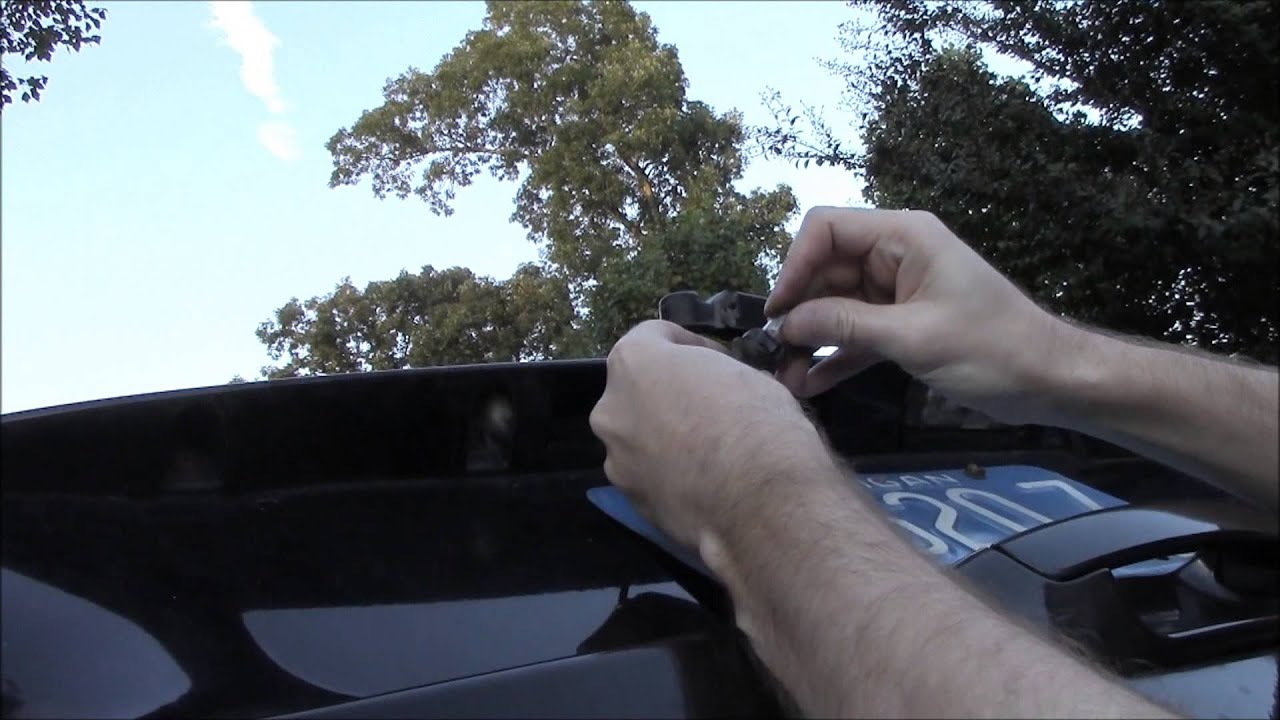How To Replace Jeep Tag Lights License Plate Lights For
