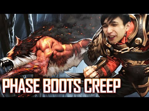 PHASE BOOTS CREEP IN MY TEAM - SingSing Dota 2 Highlights